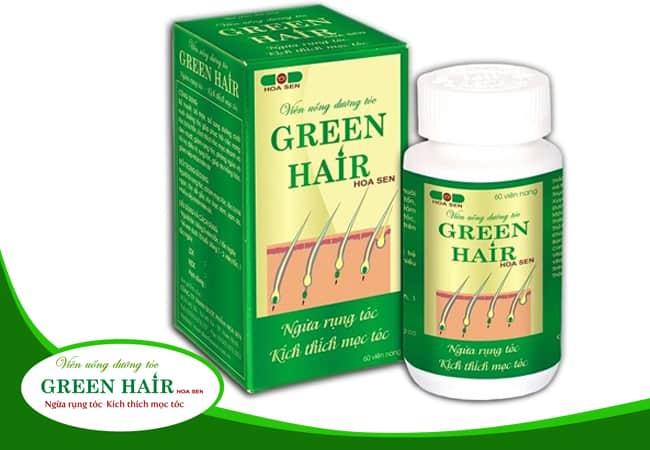 Phụ nữ cho con bú có dùng được viên uống dưỡng tóc Green Hair?